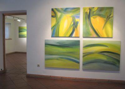 Malereien der Künstlerin Hilde Chisté aus den letzten Jahren, Aufnahme: © Hilde Chistè