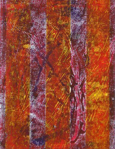 Passagen II - Monotypie © Hilde Chistè