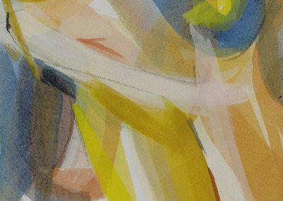 Von Wüsten und Wassern II - Acryl auf Leinwand © Hilde Chistè