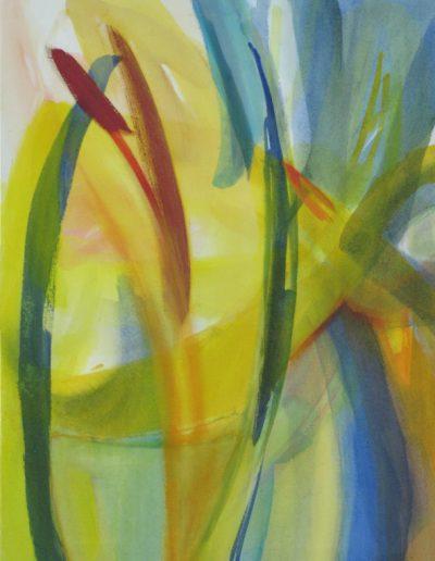 Lichtsame II - Acryl auf Leinwand © Hilde Chistè