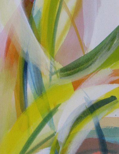 Zwischen - I - Acryl auf Leinwand © Hilde Chistè