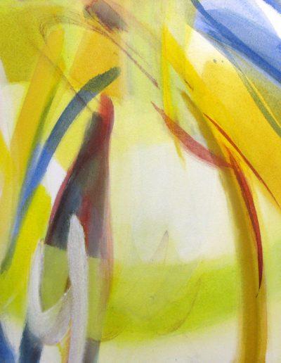 Zwischen - IV - Acryl auf Leinwand © Hilde Chistè