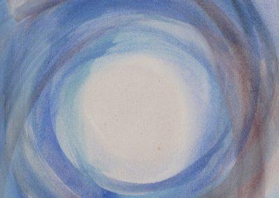 Meditationsbild I - Acryl auf Leinwand © Hilde Chistè