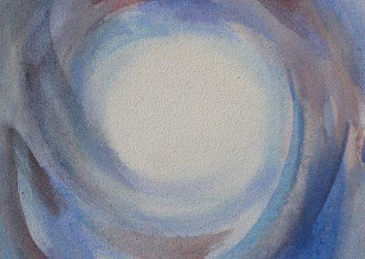 Meditationsbild II - Acryl auf Leinwand © Hilde Chistè