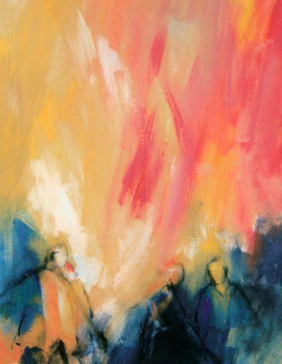 Pfingsten - Komm herab o heiliger Geist I © Gestaltung Hilde Chistè © Aufnahme Stockhammer