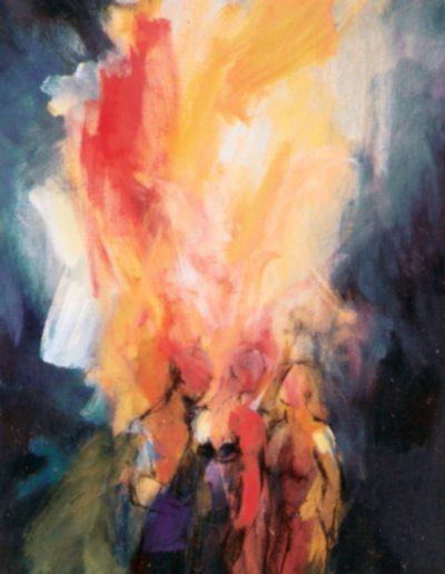 Pfingsten - Komm herab o heiliger Geist III © Gestaltung Hilde Chistè © Aufnahme Stockhammer