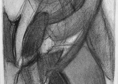 Wachsen IV - Graphit © Hilde Chistè