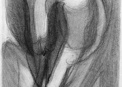 Wachsen VII - Graphit © Hilde Chistè