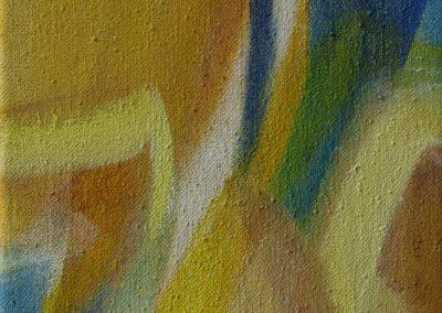 Von Wüsten und Wassern VI- Acryl auf Leinwand © Hilde Chistè