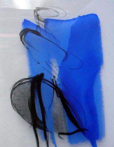 Glasbild - Glasmalerei - © Hilde Chistè