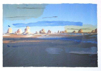 Weiße Wüste – ins Licht getaucht II © Hilde Chistè